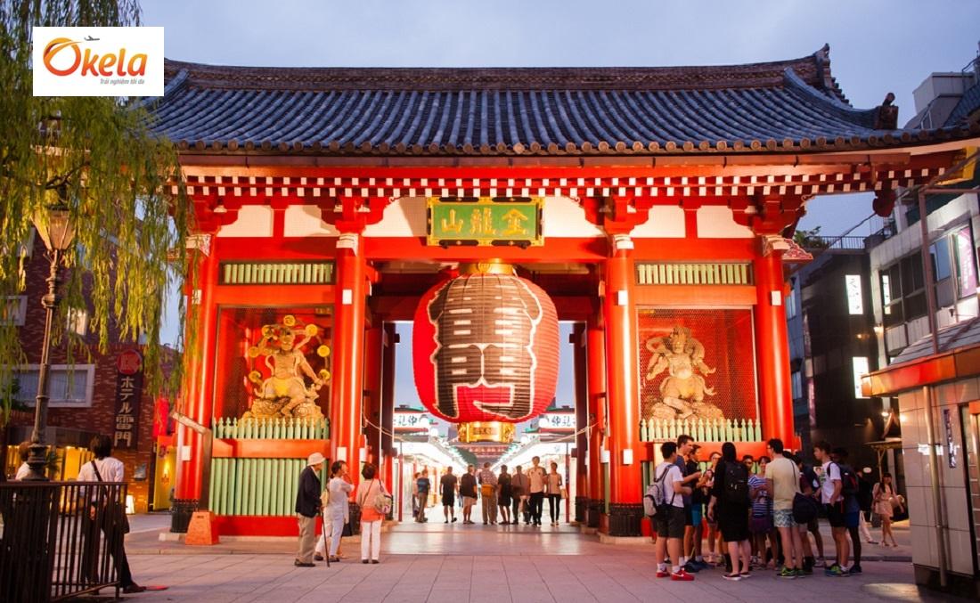 Địa điểm du lịch Nhật Bản Tết 2020 - Chùa Asakusa