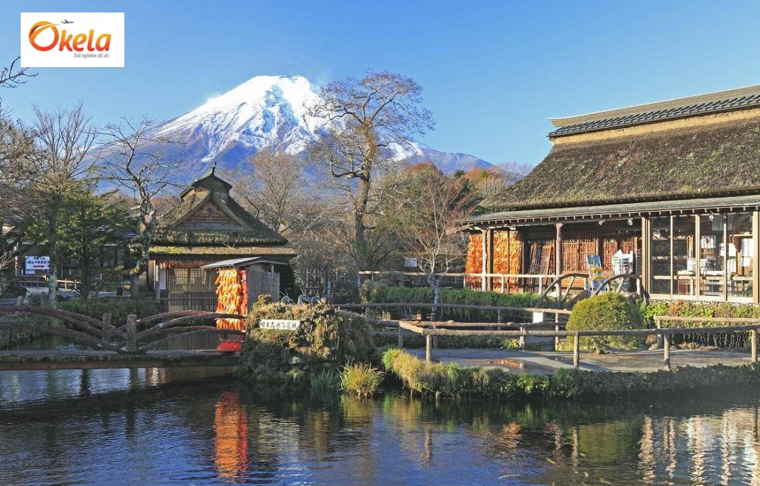 Địa điểm tham quan tại Nhật Bản - Làng văn hóa Oshino Hakkai