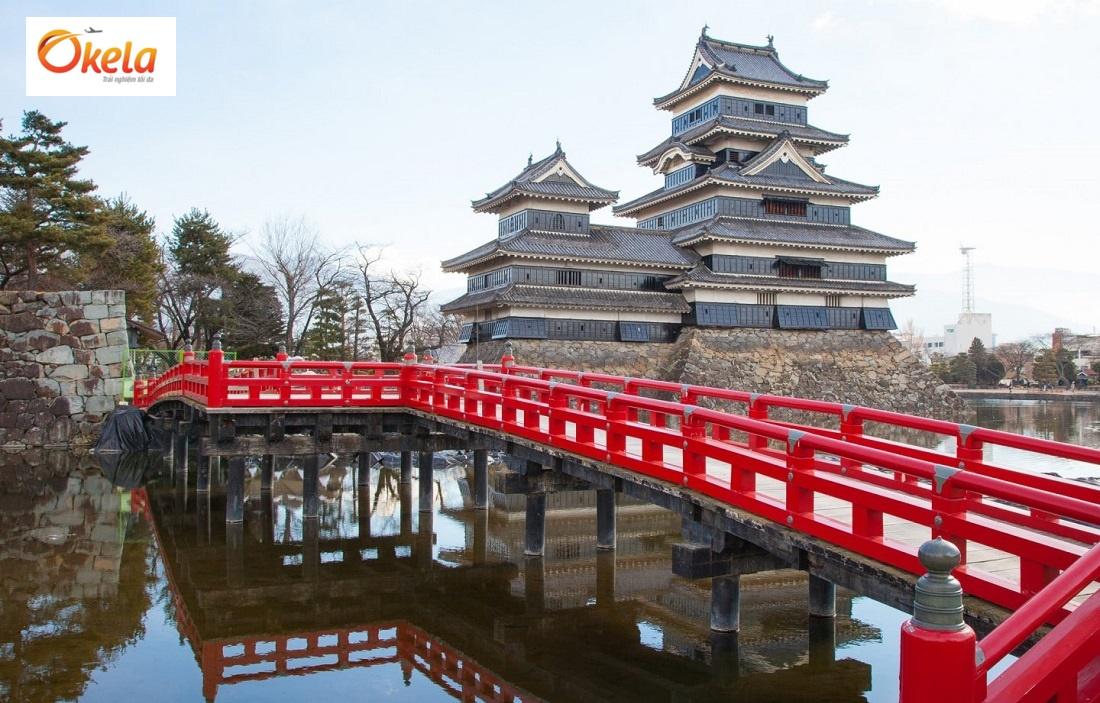Địa điểm du lịch Nhật Bản Tết 2020 - Lâu đài Matsumoto