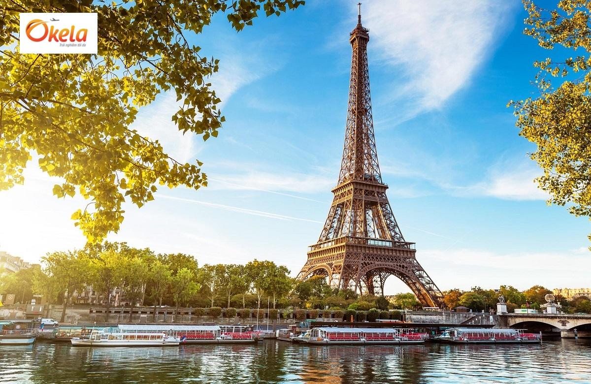 Tour du lịch Châu Âu Tết 2020 ở Paris, Pháp