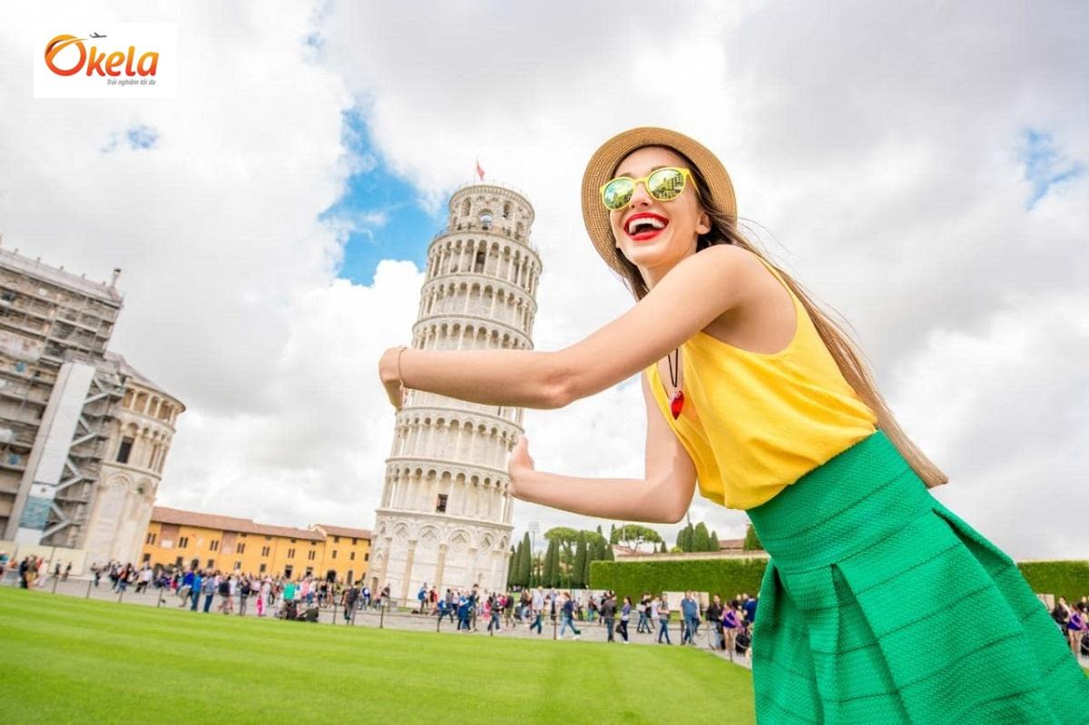 Tour du lịch Châu Âu Tết 2020 ở Pisa, Ý