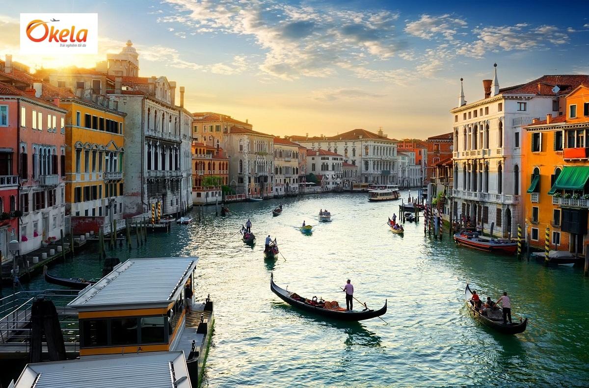 Tour du lịch Châu Âu Tết 2020 ở Venice, Ý